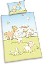 Herding BABY BEST Toddler Bedding Set, Reversible