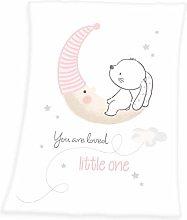 Herding Baby Blanket, Little Bunny Motif, 75 x