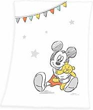 Herding Disney Mickey Mouse Baby Blanket, 75 x