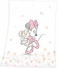 Herding Disney Minnie Mouse Baby Blanket, 75 x
