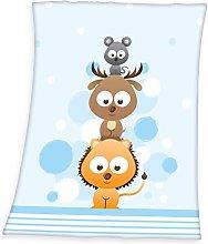 Herding Fynn Baby Blanket, Animal Lovers Motif, 75