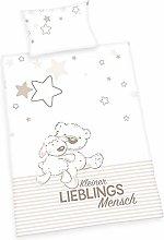 Herding Lieblingsmensch Baby Bed Linen, Cotton,