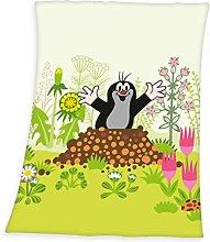 Herding The Little Mole Baby Blanket, 75 x 100 cm,