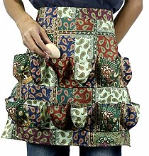 heresell Egg Gathering Harvest Apron With 12 Egg