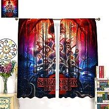 HERG Stranger Things Window Curtain Curtain
