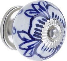 Heritage Bathrooms Ceramic Flower Door Knob