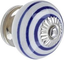 Heritage Bathrooms Ceramic Spiral Door Knob