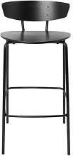 Herman Bar chair - / H 64 cm by Ferm Living Black