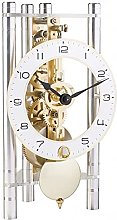 Hermle Bude Mechanical Mantel Clock Eloxed