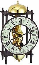 Hermle Mechanical Mantel Clock - Skeleton Dial -