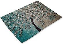 Herrdan (2pcs) plant Series Oil Painting