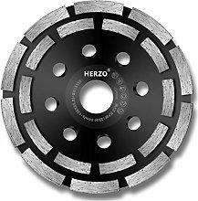HERZO Diamond Grinding Disc 125mm x 22.2mm / 5inch