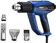HERZO Heat Gun/Hot Air Gun 2000W with 3