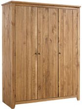 Hesta 3 Door Wardrobe Pine