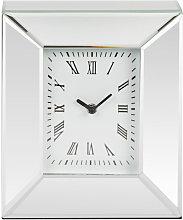HESTIA Mirror Rectangular Mantel Clock