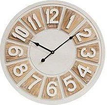 Hestia Two Tone Round Wall Clock