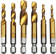 Hex Shank Screw Taps Tool for Soft Metal/Iron