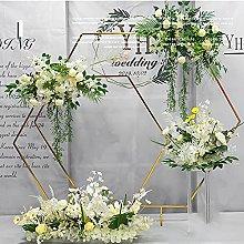Hexagon Arch Backdrop, Large Wedding Arch, DIY