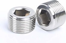 Hexagon Pipe 1/8 1/4 3/8 1/2 3/4 1-2 BSPT/NPT Male