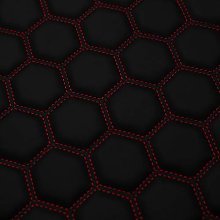 Hexagon Quilted Bentley Stitched 8mm Foam Backed