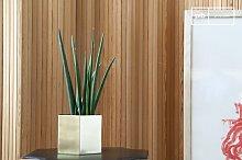 Hexagonal Brass Plant Pot