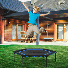 Hexagonal Fitness Trampoline Gym Jumping Bed