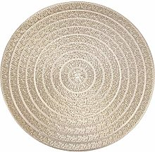 HEYOMART PVC Placemats Sets of 4 Round Place Mats