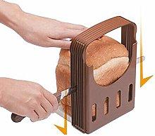 HEYXI Bread Slicer Adjustable Bagel Bread Slicer