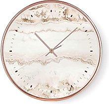 HEZHANG 12-Inch Nordic Art Clock Wall Clock