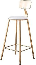 HEZHANG Bar Stool-Barstools with Back Rest for