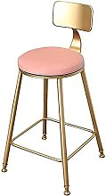HEZHANG Faux Leather Upholstered Bar Stools with