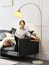 HEZHANG Floor Lamp with Table, Led Minimalist