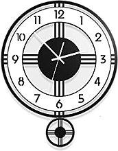 HEZHANG Living Room Creative Clocks Fashion