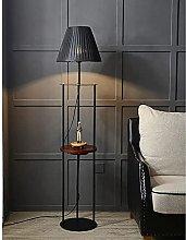 HEZHANG Modern Floor Lamp with Shelves, Shelf