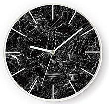 HEZHANG Modern Minimalist Art Wall Clock Creative