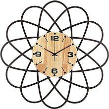 HEZHANG Modern Minimalist Home Wall Clock
