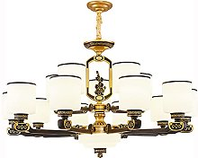 HEZHANG New Chinese Style Chandelier Living Room