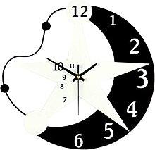 HEZHANG Star Creative Personality Fashion Clock
