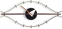 HEZHANG Wall Clock Eye Wall Clock Nordic Design