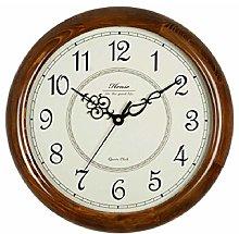 HEZHANG Wall Clock Mute Creative Quartz Clock