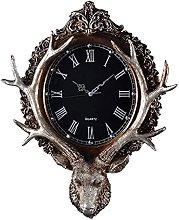 HEZHANG Wall Clock Nordic Wall Clock Modern