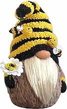 HFDFJFVC Bee Festival Goblin doll plush dwarf