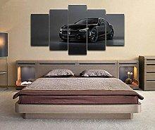HFDSA Print Painting Canvas, 5 Pieces Sport Car