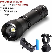HGDD Bicycle accessories bicycle lights 8000