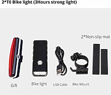 HGDD Bike Headlight Compatible with 10000LM 2 *