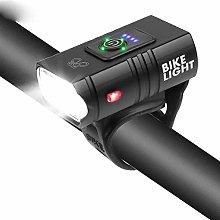 HGDD Bike Headlight Compatible with Bike Light USB