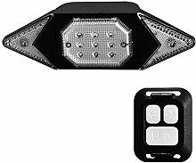 HGDD Bike Headlight Compatible with Flashing Bike