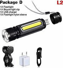 HGDD Bike Headlight Compatible with Strong Bike