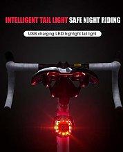 HGDD Bike Headlight Compatible with USB