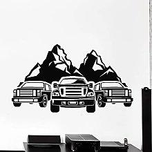 HGFDHG Adventure Wall Decal Car Rover Mountain